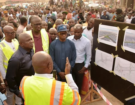 Pen Cinema Flyover to be ready by November, says Gov. Ambode