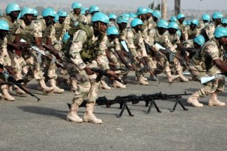 Nigerian military retires 342 soldiers
