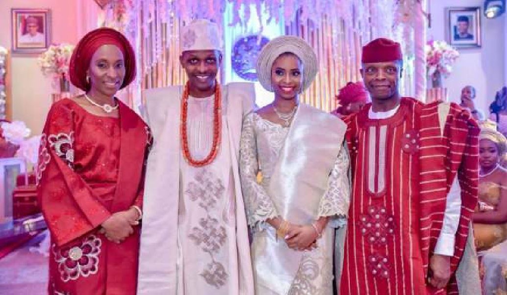 Photo of [Photos] Osinbajo holds private engagement ceremony for daughter in Aso Rock