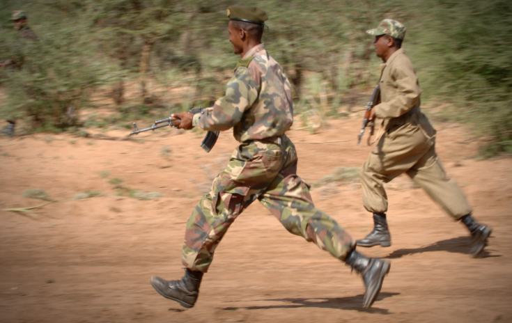 Photo of Soldier kills colleague, shoots self dead, injures four others in Borno