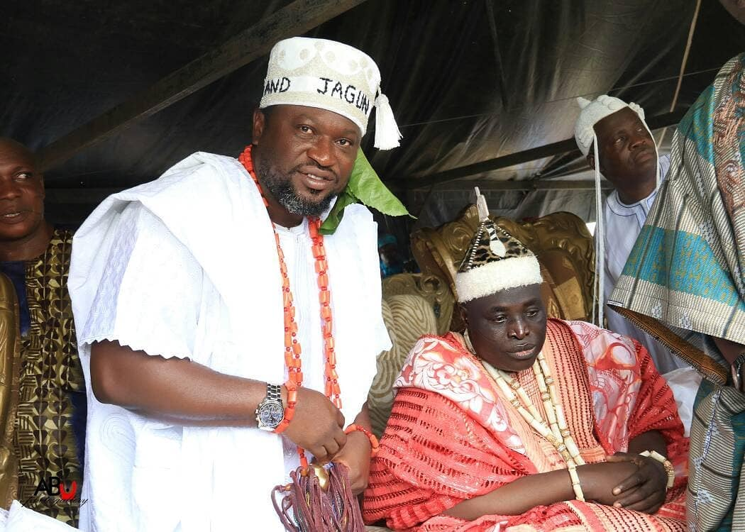 Photo of Femi Branch Conferred With 'Jagun Asa Of Edeland' Title By Alaafin Of Oyo(Photos)