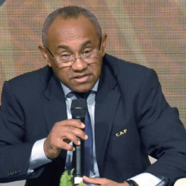 CAF President Ahmad Ahmad tests positive for COVID-19