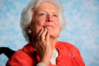 Trump, Obama, Clinton, others mourn Barbara Bush
