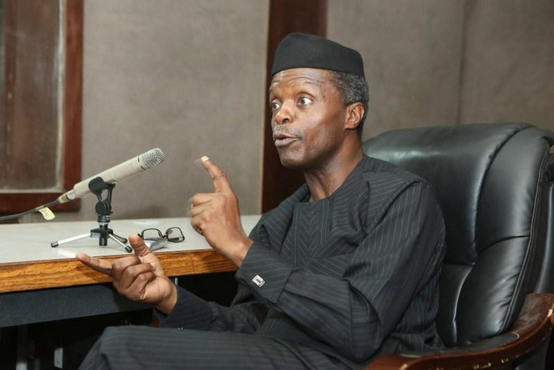 Photo of No sensible politician should ignore entertainers – Osinbajo