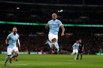 Kompany happy to keep Man City title champagne on ice