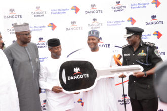 Insecurity: Dangote donates 150 operational vehicles to Nigerian Police