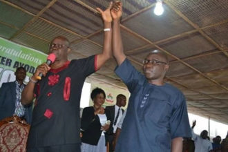 Ekiti 2018: APC will defeat your candidate without rigging – Oshiomhole tells Fayose