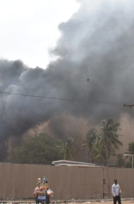 Fire guts chemical factory in Ondo, destroys N100m equipment, goods