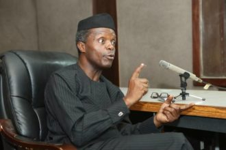 FG invests $10bn in infrastructure in 3 years, says Osinbajo