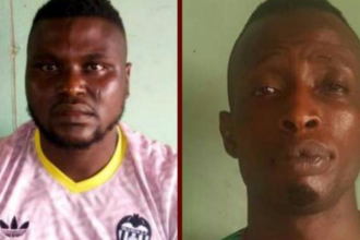 BREAKING: Police arrest two Offa robbery suspects [Photos]