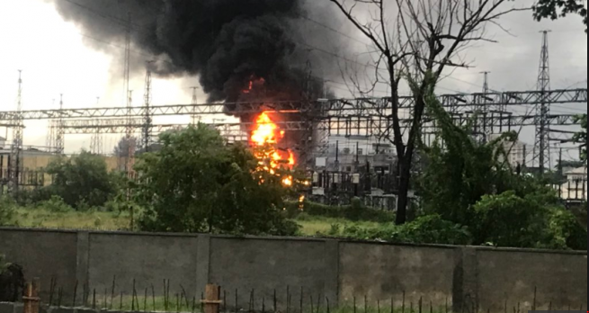 Photo of shortage in power reception caused Lagos substation fire- TCN