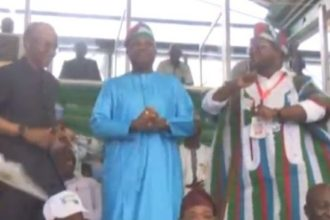 [Video] El-Rufai, Bello, Bindo, others show dancing skills at APC convention
