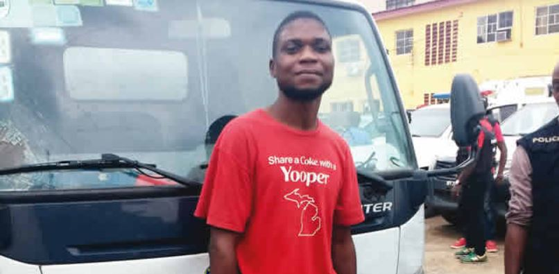 Photo of Factory driver steals N10m goods, arrested in church while praying for forgiveness