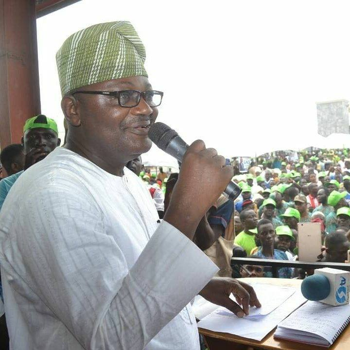 Photo of 2019 : ADC candidate, Isiaka promises to complete Amosun's projects