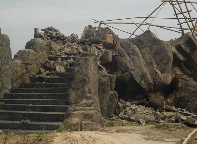 Photo of BREAKING: Two-storey building partially collapses in Gbagada