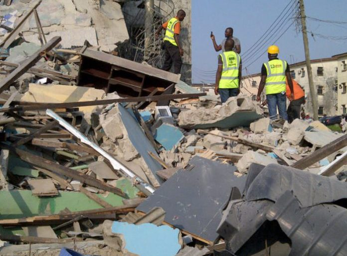 Photo of Another building collapses in Ikorodu