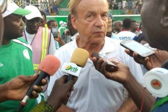 NFF, Rohr work out modality for COVID-19 pay cut