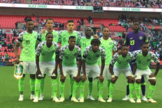 Nigeria moves two spot up on new FIFA ranking