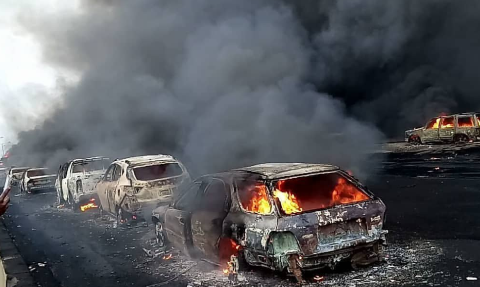 Photo of Toddler, four others die as fuel tanker explodes in Akure