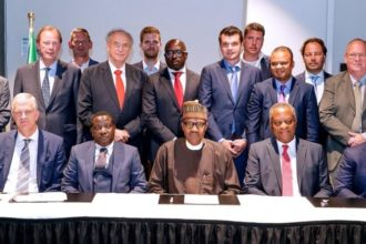 Buhari meets CEOs of Dutch companies, assures on safety of investments in Nigeria