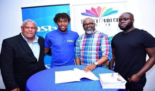 Photo of MultiChoice signs Iwobi as DSTV ambassador
