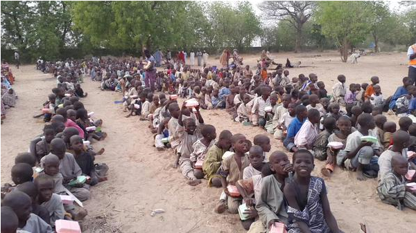 Photo of 'Over 17,000 Babies Born In Borno IDP Camps Since 2019'