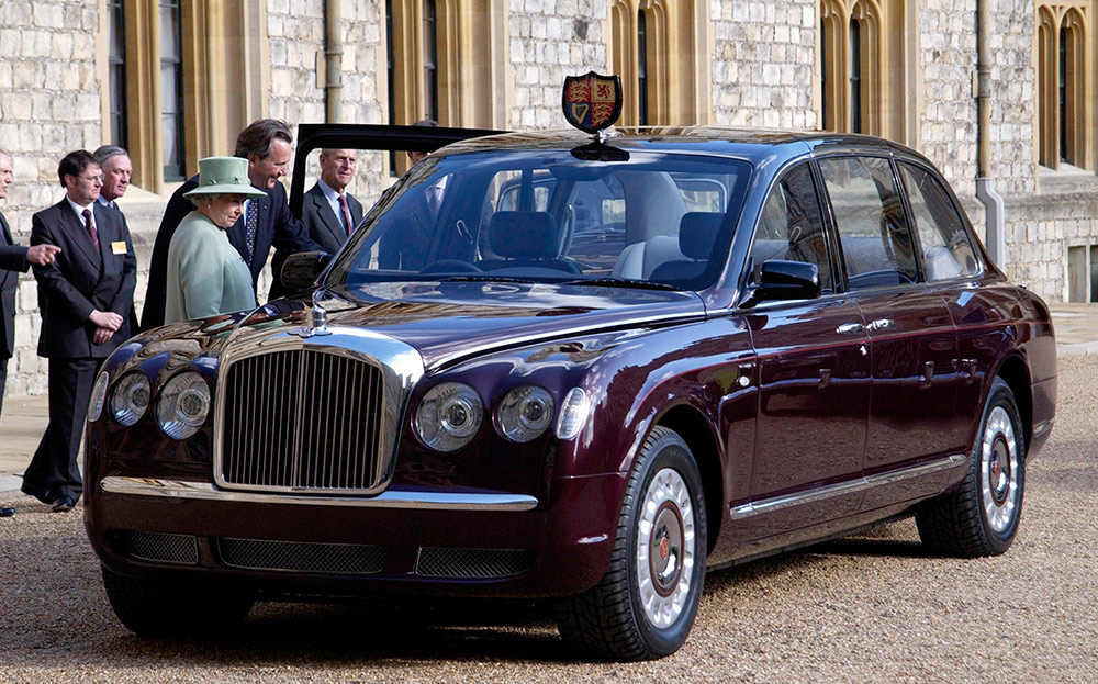 Photo of Queen Elizabeth's used cars up for auction