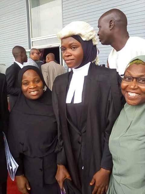 Photo of Amada Firdausa Finally Called To Bar In Hijab By Nigerian Law School