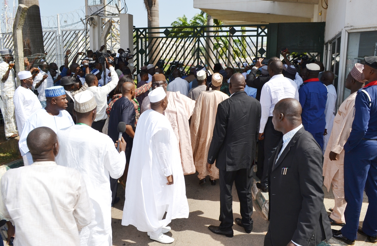 Photo of NASS Siege: European Union condemns DSS, warns against truncating Nigeria's democracy