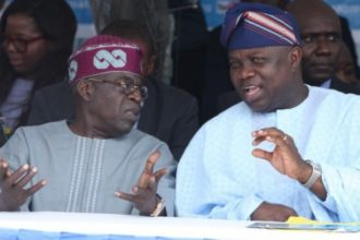 JUST IN: Ambode dares Tinubu, submits APC governorship form