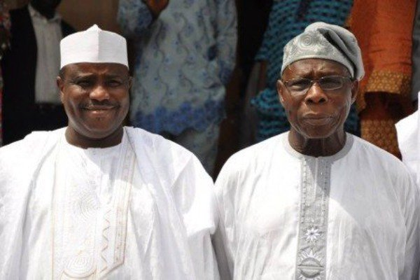 Photo of 2019: Tambuwal consults Obasanjo in Abeokuta