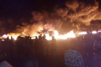 One dead, others injured as tanker explodes in Lagos