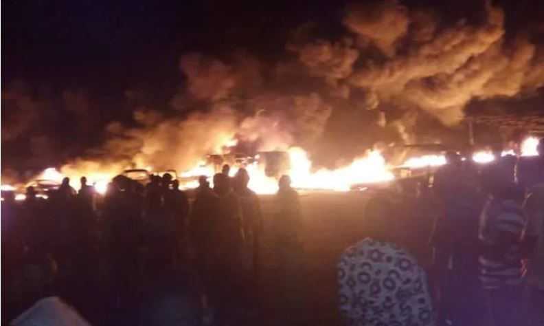 Photo of One dead, others injured as tanker explodes in Lagos