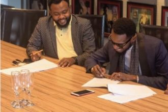 D'banj, Sony Music sign record deal