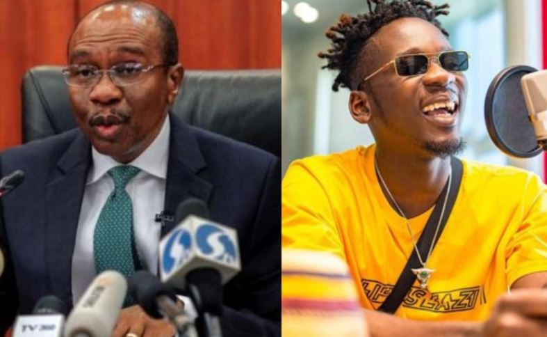 Photo of 'Your dreadlocks are irresponsible' – CBN Governor allegedly tells Mr Eazi