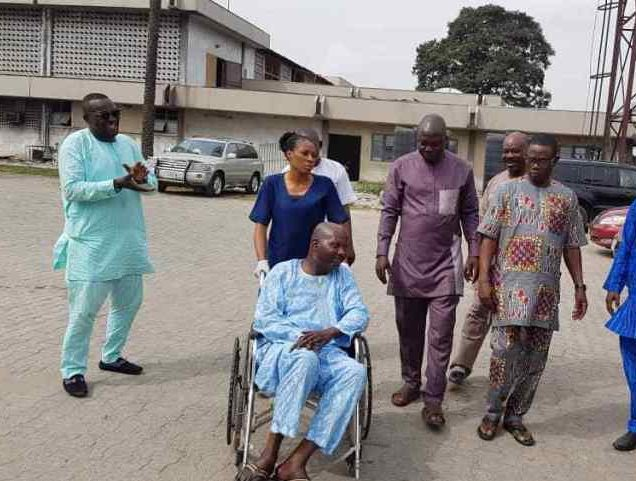 Photo of Comic actor, Baba Suwe discharged from LUTH, seeks further treatment abroad