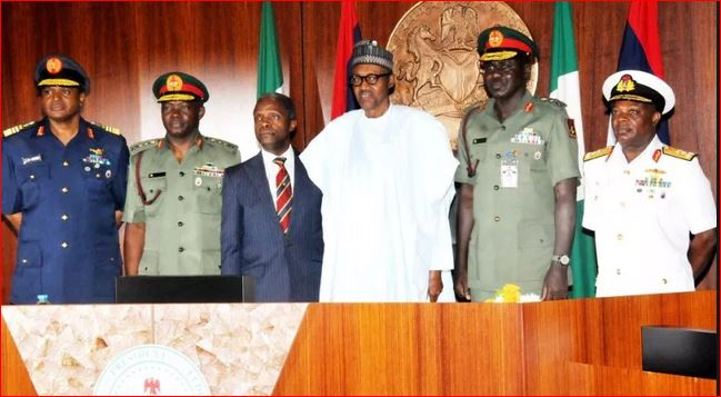 Photo of EXCLUSIVE: How infighting, lack of coordination between Buhari's ex-service chiefs crumbled fight against insurgency