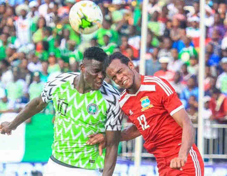Photo of International Friendly: Nigeria beat Egypt 1-0, as Onuachu scores first, fastest goal in history