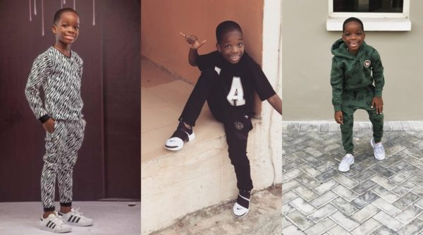 Photo of Wizkid's seven-year-old son, Boluwatife starts own clothing line
