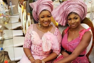 Omotola's hubby gets car for 22-year old daughter