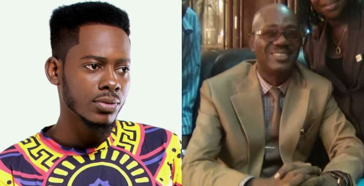 Photo of Ace musician, Adekunle Gold loses father few months after promotion as Permanent Secretary