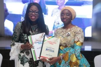 Bolanle Ambode hands over to wife of Lagos governor-elect