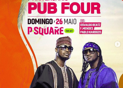 Photo of Mr P to sue Angolan show organisers for using P-Square poster