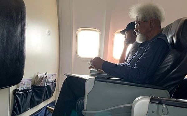 Photo of Aircraft seat controversy: My story, by Wole Soyinka