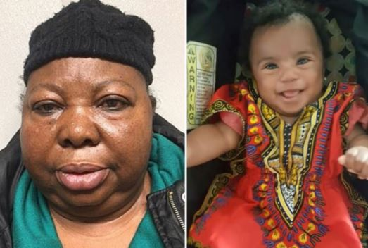 Photo of 73 year-old Nigerian Nanny jailed in U.S. for killing baby