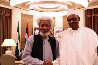 VIDEO: I don't believe Buhari is the one in charge at Aso Rock - Wole Soyinka