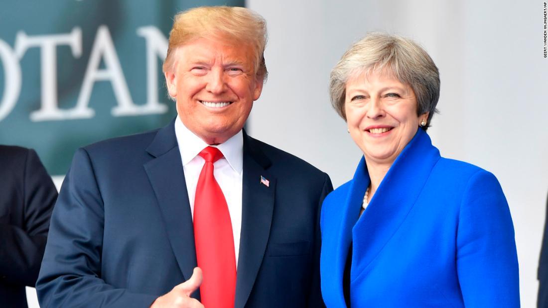 Photo of Brexit: Trump calls Theresa May 'foolish'