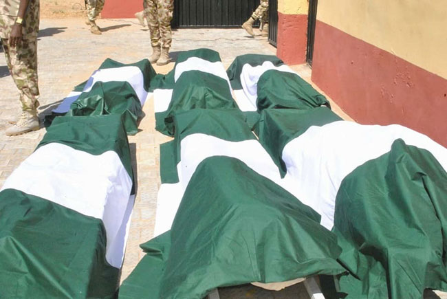 Criminals kill 11 Nigerian Army personnel on official duty in Benue