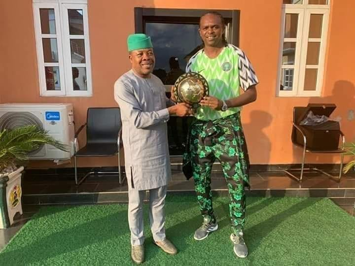 Imo Governor, Ihedioha appoints ex-Eagles captain, Kanu Nwankwo Senior Special Assistant