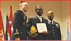 Photo of Ex-Flying Eagles star Robert bags US Army award